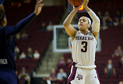 Auburn vs. Texas A&M in a NCAA women's basketball game Sunday, Feb. 4th, 2018, in College Station, Texas.