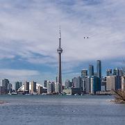 Toronto Skyline, Toronto Island, Canada