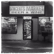 The old Vincent's Market that used to be along Chapman Ave in Fullerton, CA.