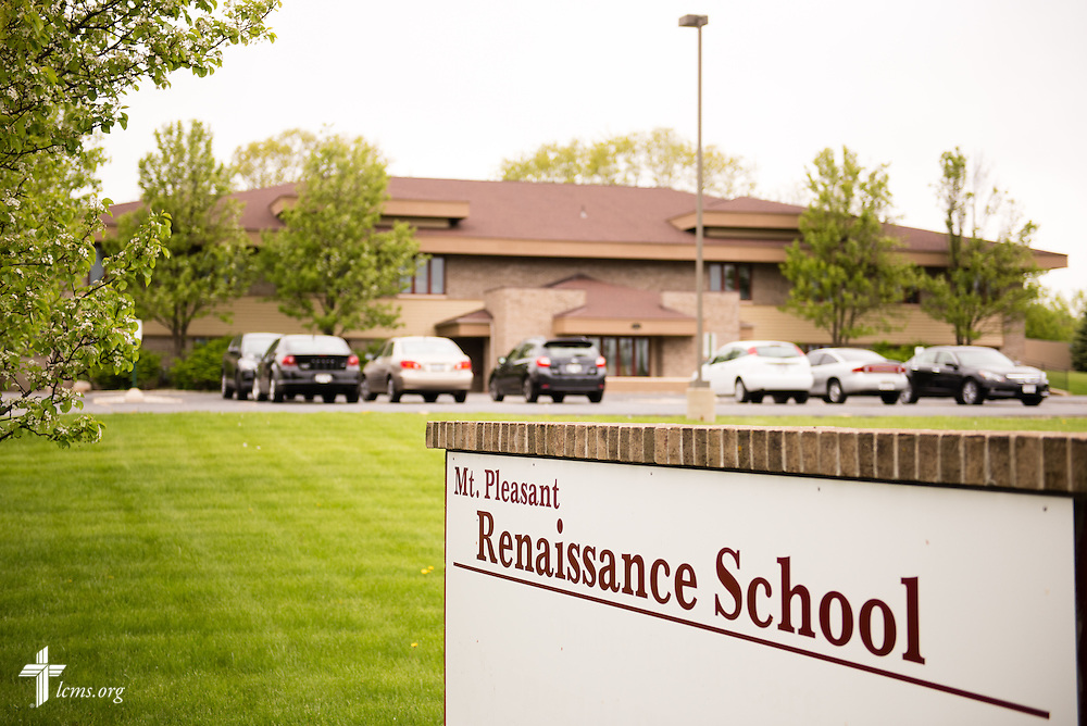 Exterior photograph of the Renaissance School, part of Lutheran Urban Mission Initiative, Inc., on Wednesday, May 20, 2015, in Mt. Pleasant, Wis. LCMS Communications/Erik M. Lunsford