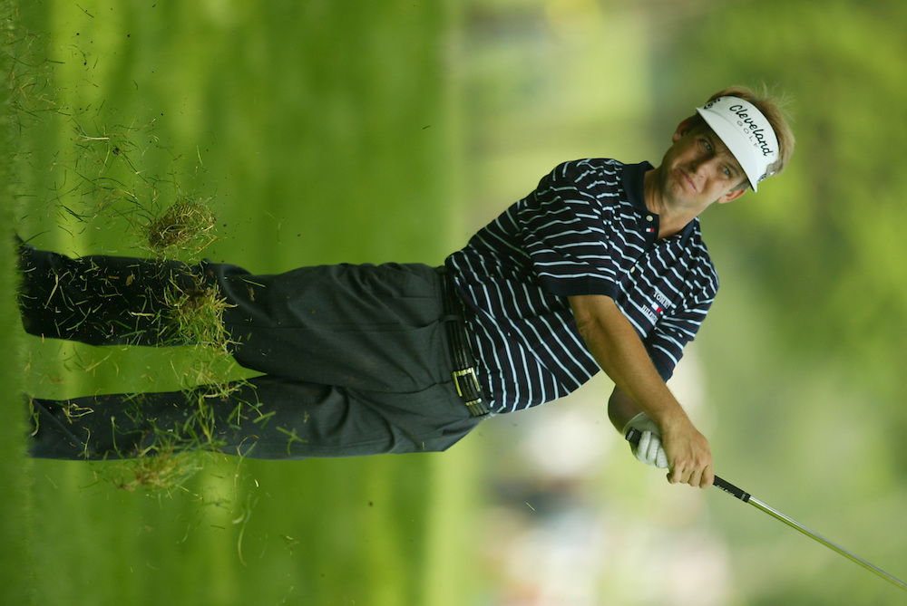 David Toms..2003 U.S. Open..First Round..Olympia Fields CC..Chicago, IL..Thursday June 12 2003..photograph by Darren Carroll