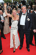 "CANNES, FRANCE - MAY 14:  Chrisrtina Weyer and Hans Hermann Consul Weyer, Graf von Yorck attend the opening ceremony and ""Grace of Monaco"" premiere at the 67th Annual Cannes Film Festival on May 14, 2014 in Cannes, France.  (Photo by Tony Barson/FilmMagic)"