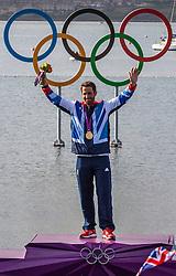 Gold Medal Winner <br /> Ainslie Ben, (GBR, Finn)<br /> <br /> 2012 Olympic Games <br /> London / Weymouth