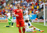 Dries Mertens of Belgium looks on during the 2014 FIFA World Cup match at Maracana Stadium, Rio de Janeiro, Brazil. <br /> Picture by Andrew Tobin/Focus Images Ltd +44 7710 761829<br /> 22/06/2014