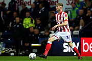 Stoke City defender Nathan Collins (37) during the EFL Sky Bet Championship match between Preston North End and Stoke City at Deepdale, Preston, England on 21 August 2019.