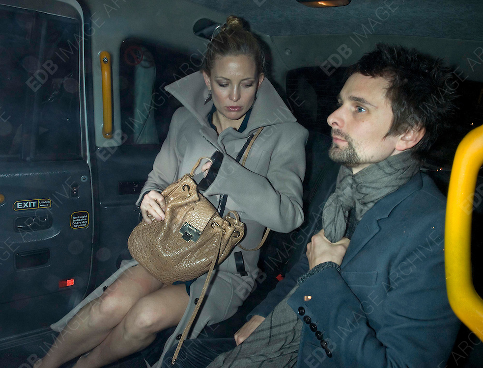 03.FEBRUARY.2011. LONDON<br /> <br /> ACTRESS KATE HUDSON AND 'MUSE' FRONTMAN MATT BELLAMY LEAVING SCOTT'S RESTAURANT, IN LONDON.<br /> <br /> BYLINE: EDBIMAGEARCHIVE.COM<br /> <br /> *THIS IMAGE IS STRICTLY FOR UK NEWSPAPERS AND MAGAZINES ONLY*<br /> *FOR WORLD WIDE SALES AND WEB USE PLEASE CONTACT EDBIMAGEARCHIVE - 0208 954 5968*
