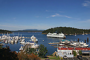 Friday Harbor, San Juan Islands, Washington<br />