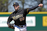Missouri starting pitcher Rick Zagone pitched a complete-game one hit shutout with 11 strike outs, in defeating Kansas State 3-0 at Tointon Stadium in  Manhattan, Kansas, April 7, 2007.