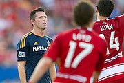 FRISCO, TX - AUGUST 11:  Robbie Keane #7 of the Los Angeles Galaxy looks on against FC Dallas on August 11, 2013 at FC Dallas Stadium in Frisco, Texas.  (Photo by Cooper Neill/Getty Images) *** Local Caption *** Robbie Keane