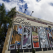 Little Havana also known as La Calle Ocho is home to many Cuban immigrant residents, as well as many residents from Central and South America. Tour busses take tourist to Miami's South West 8 Street or Calle Ocho the home to many Cuban restaurants, bars and cigar shops.<br /> Photography by Jose More