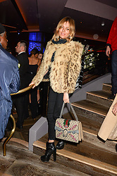 SIENNA MILLER at a party to celebrate the opening of 100 Wardour Street, Soho, London on 28th January 2016.