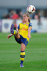 Arsenal Ladies' Jordan Nobbs - Photo mandatory by-line: Dougie Allward/JMP - Mobile: 07966 386802 - 20/09/2014 - SPORT - FOOTBALL - Bristol - SGS Wise Campus - BAWFC v Arsenal Ladies - FA Womens Super League