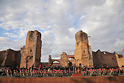 Rome, Italy Outdoor concert at The Baths of Caracalla (Terme di Caracalla)