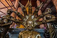 buddha statue portrait at Wat Yai Chai Mongkhon Ayutthaya Bangkok Thailand