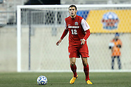 13 December 2013: New Mexico's Kyle Venter. The University of Notre Dame Fighting Irish played the University of New Mexico Lobos at PPL Park in Chester, Pennsylvania in a 2013 NCAA Division I Men's College Cup semifinal match. Notre Dame won the game 2-0.