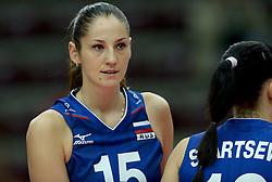 24-09-2014 ITA: World Championship Volleyball Rusland - Mexico, Verona<br /> Rusland wint met 3-0 / Tatiana Kosheleva