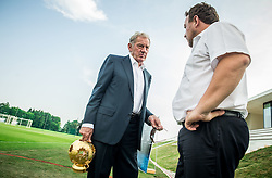 Milan Mandaric  of NK Olimpija Ljubljana and Ilija Kitic of NZS during NZS Draw for season 2016/17, on June 24, 2016 in Brdo pri Kranju, Slovenia. Photo by Vid Ponikvar / Sportida