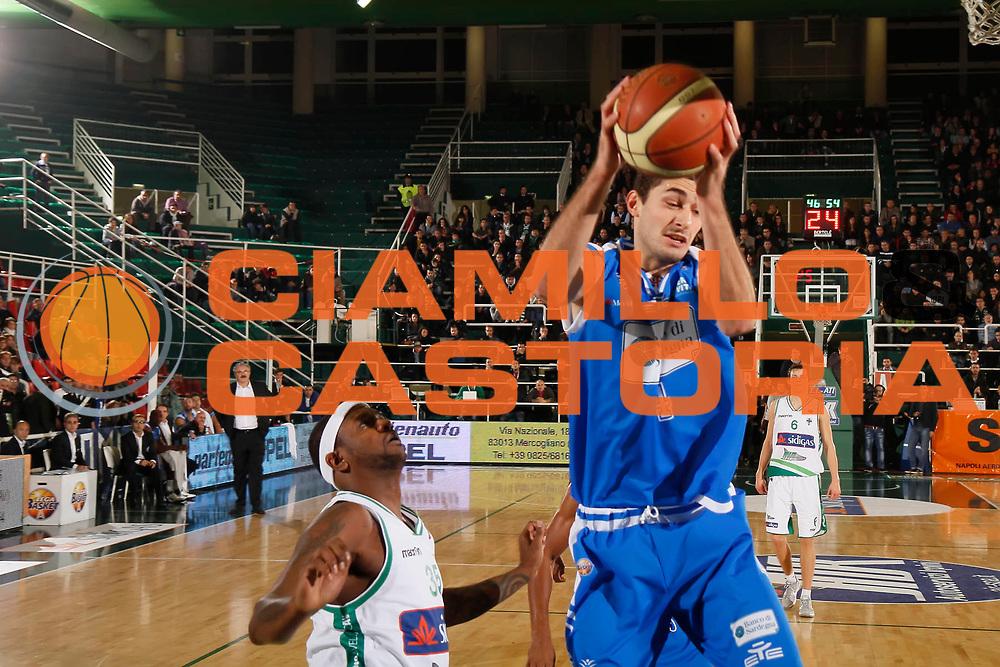 DESCRIZIONE : Avellino Lega A 2011-12 Sidigas Avellino Banco di Sardegna Sassari<br /> GIOCATORE : Nika Metreveli<br /> SQUADRA : Banco di Sardegna Sassari<br /> EVENTO : Campionato Lega A 2011-2012<br /> GARA : Sidigas Avellino Banco di Sardegna Sassari<br /> DATA : 06/11/2011<br /> CATEGORIA : rimbalzo<br /> SPORT : Pallacanestro<br /> AUTORE : Agenzia Ciamillo-Castoria/A.De Lise<br /> Galleria : Lega Basket A 2011-2012<br /> Fotonotizia : Caserta Lega A 2011-12 Sidigas Avellino Banco di Sardegna Sassari<br />  Predefinita :
