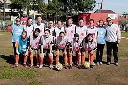 Lance da partida entre as equipes Duda A x Duda B válida pela copa Coca-Cola, no Estadio Candido de Menezes, neste sabado 03/09/2011, em Porto Alegre. FOTO: Marcelo Campos/Preview.com