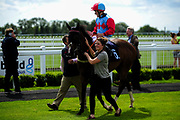 Tawaafoq ridden by Finley Marsh and trained by Adrian Wintle in the Visit Valuerater.Co.Uk For Best Free Tips Handicap (Value Rater Racing Club Summer Sprint Series) (Class 6) race. - Ryan Hiscott/JMP - 21/08/2019 - PR - Bath Racecourse - Bath, England - Race Meeting at Bath Racecourse