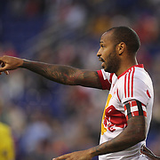 Thierry Henry, New York Red Bulls, during the New York Red Bulls Vs Portland Timbers, Major League Soccer regular season match at Red Bull Arena, Harrison, New Jersey. USA. 24th May 2014. Photo Tim Clayton