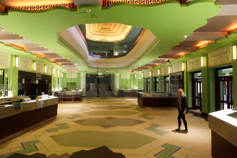 Art deco hammersmith apollo opens after refurbishment for Art deco cinema interior