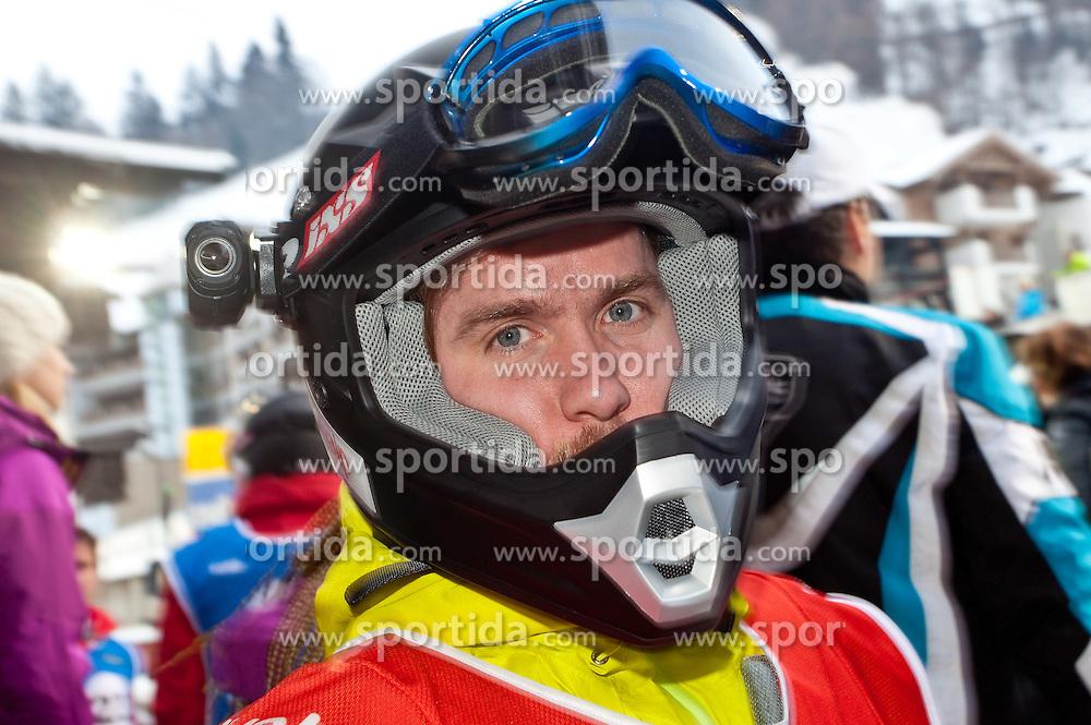 10.12.2011, Rennstrecke, Saalbach Hinterglemm, AUT, Swatch Snow Mobile 2011, Der Renntag, im Bild Formel1 Rennfahrer Nick Heidfeld (DEU) // during Rennen at Swatch Snow Mobile 2011, Saalbach Hinterglemm, Austria on 2011/12/09. EXPA Pictures © 2011, PhotoCredit: EXPA/ Markus Casna
