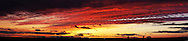 Sunset, west of Portage la Prairie, Wednesday, June 17, 2015. 6 image Panorama. (Trevor Hagan)