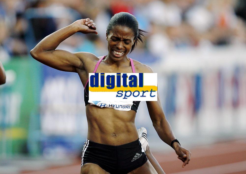 Friidrett, 4. juni 2010,  Diamond League , Bislett Games Oslo<br /> <br /> <br /> Lashauntea Moore , winner 200 m