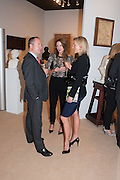 FERGUS O'SULLIVAN; EDWINA BOWEN; SOPHIE O'SULLIVAN, Art Antiques London Party in the Park in aid of JDRF, the Juvenile Diabetes Research Foundation. Kensington Gardens. London. 12 June 2012
