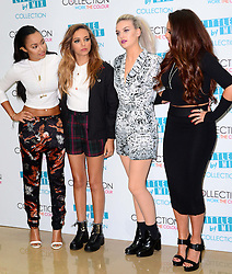 British Girl band Little Mix at the launch of their new makeup range in London, Tuesday, 24th September 2013. Picture by Nils Jorgensen / i-Images