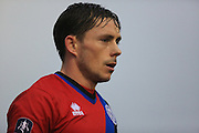 Ian Henderson during the The FA Cup 3rd round match between Barrow and Rochdale at Holker Street, Barrow, United Kingdom on 7 January 2017. Photo by Daniel Youngs.