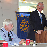 (Floyd Ingram / Buy at photos.chickasawjournal.com)<br /> U.S. Senator Roger Wicker (R-Miss.) speaks to the Houston Exchange Club at noon Friday, Aug. 19, 2016. Wicker talked about Washington politics and the upcoming Presidential election this fall.