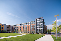 Architectural image of the Parker at Huntington Metro in Alexander VA by Jeffrey Sauers of Commercial Photographics, Architectural Photo Artistry in Washington DC, Virginia to Florida and PA to New England
