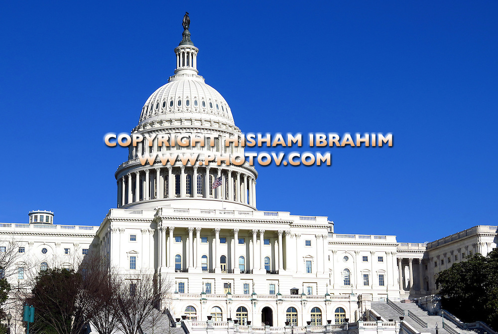 United States Capitol Building, Capitol Hill, Washington DC, USA.
