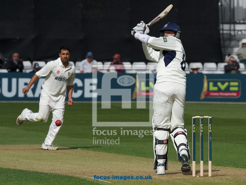 Picture by Alan Stanford/Focus Images Ltd +44 7915 056117.29/04/2013.David Balcombe of Hampshire County Cricket Club during the LV County Championship Div Two match at the County Ground, Chelmsford, Chelmsford..