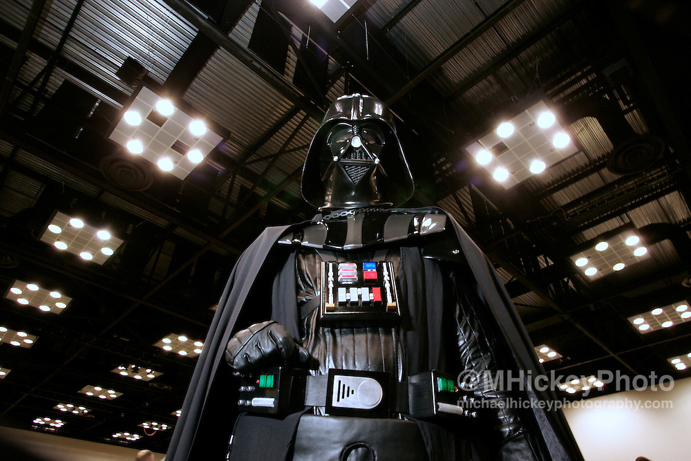 Darth Vader seen at Star Wars Celebrations III in Indianapolis, IN. Photo by Michael Hickey