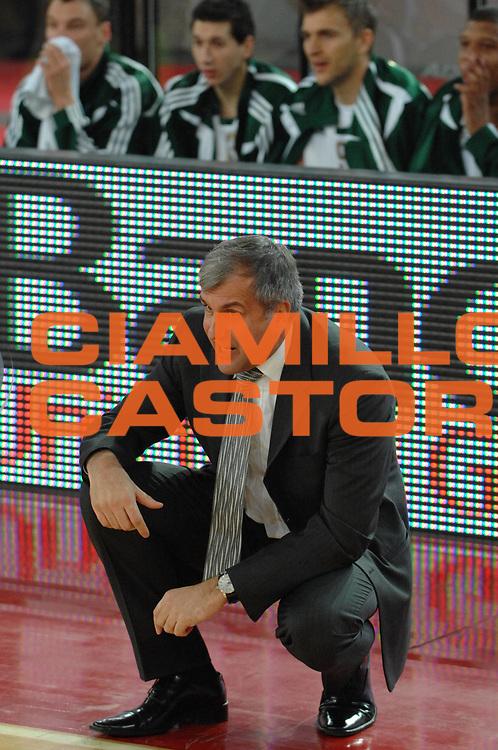 DESCRIZIONE : Roma Eurolega  2007-08 Lottomatica Virtus Roma Panathinaikos<br /> GIOCATORE : Zelimir Obradovic<br /> SQUADRA : Panathinaikos<br /> EVENTO : Eurolega 2007-2008 <br /> GARA : Lottomatica Virtus Roma Panathinaikos <br /> DATA : 13/12/2007 <br /> CATEGORIA : Ritratto<br /> SPORT : Pallacanestro <br /> AUTORE : Agenzia Ciamillo-Castoria/E.Grillotti