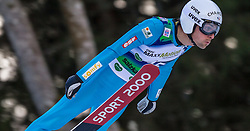 10.01.2015, Kulm, Bad Mitterndorf, AUT, FIS Ski Flug Weltcup, Bewerb, im Bild Vincent Descombes Sevoie (FRA) // soars to the Air during his Competition Jump of the FIS Ski Flying World Cup at the Kulm, Bad Mitterndorf, Austria on 2015/01/10, EXPA Pictures © 2015, PhotoCredit: EXPA/ Dominik Angerer