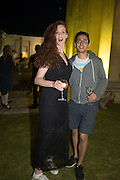 JESSICA COSTELLOE; FELIX KEMP, Opening of Grange Park Opera, Fiddler on the Roof, Grange Park Opera, Bishop's Sutton, <br /> Alresford, 4 June 2015