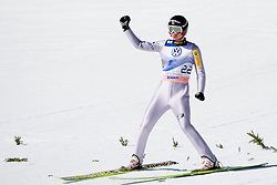 Kamil STOCH of Poland during Flying Hill Individual Final Round at 4th day of FIS Ski Jumping World Cup Finals Planica 2011, on March 20, 2011, Planica, Slovenia. (Photo By Matic Klansek Velej / Sportida.com)