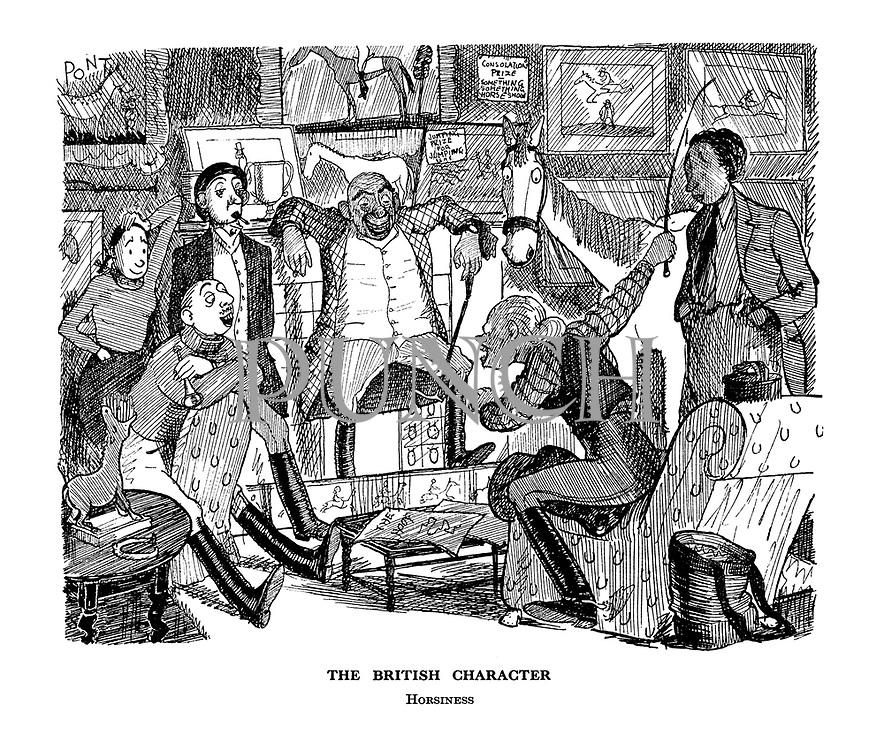 The British Character. Horsiness