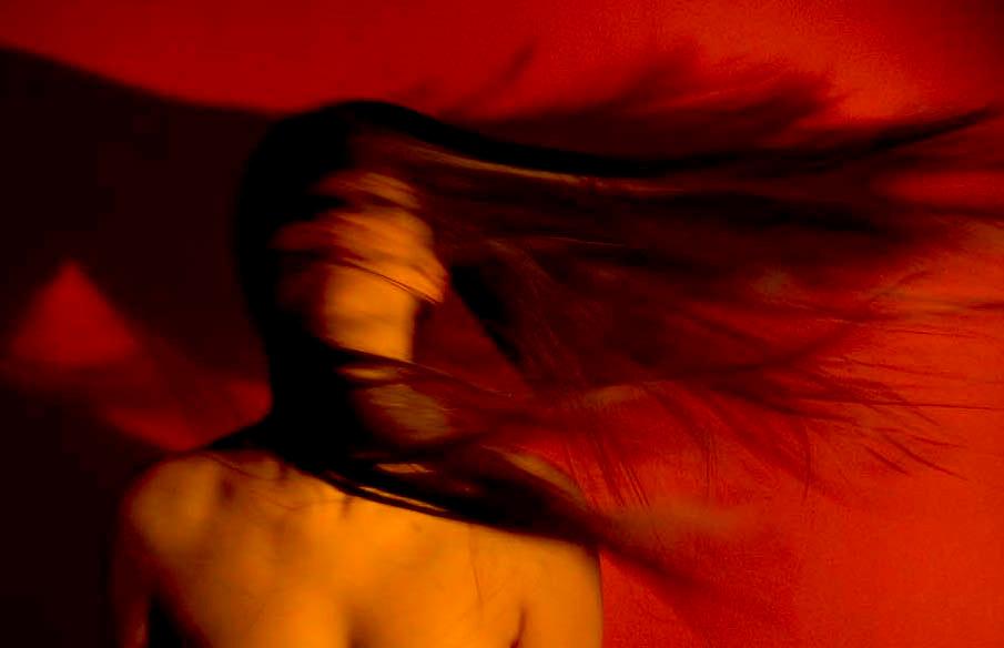 Belo Horizonte_MG, Brasil...Retrato de uma mulher...A woman portrait...Foto: LEO DRUMOND / NITRO