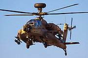 Israeli Air force (IAF) Apache AH-644 Longbow (Seraph) Helicopter in flight