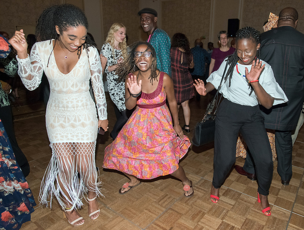 Photo by Mara Lavitt<br /> June 17, 2017<br /> New Haven, CT<br /> The 2017 ALA (African Literature Association) Annual conference banquet, awards, dance at the Omni Hotel at Yale.
