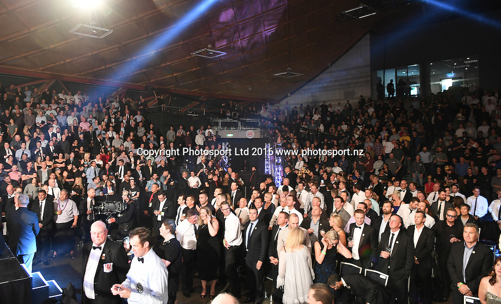 General view of fans and supporters. Burger King Road to the Title by Duco Boxing. Saturday 21 May 2016. Vodafone Events Centre, Auckland, New Zealand. © Copyright Photo: Andrew Cornaga / www.photosport.nz