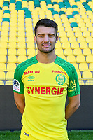 Leo Dubois during photoshooting of Fc Nantes for new season 2017/2018 on September 18, 2017 in Nantes, France. (Photo by Philippe Le Brech/Icon Sport)