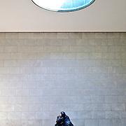 Käthe Kollwitz's sculpture Mother with her Dead Son in the Neue Wache on Unter der Linden