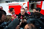 October 19-22, 2017: United States Grand Prix. Ferrari CEO Sergio Marchionne