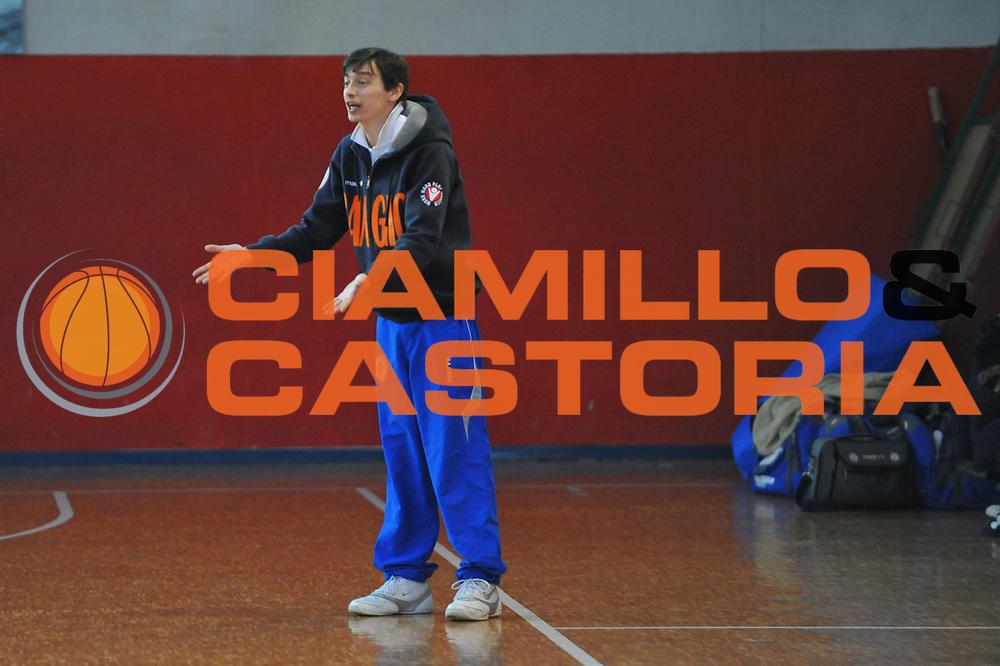 DESCRIZIONE : Foligno LNP Lega Nazionale Pallacanestro Serie A Dilettanti Coppa Italia 2009-10 Sangiorgese Bk S.Giorgio Scuola Basket Cavriago<br /> GIOCATORE :&nbsp;Marco Albanesi Coach<br /> SQUADRA : Sangiorgese Bk S.Giorgio Scuola Basket Cavriago<br /> EVENTO : Lega Nazionale Pallacanestro 2009-2010&nbsp;<br /> GARA : Sangiorgese Bk S.Giorgio Scuola Basket Cavriago<br /> DATA : 01/04/2010<br /> CATEGORIA : Ritratto<br /> SPORT : Pallacanestro&nbsp;<br /> AUTORE : Agenzia Ciamillo-Castoria/M.Gregolin<br /> Galleria : Lega Nazionale Pallacanestro 2009-2010&nbsp;<br /> Fotonotizia : Foligno LNP Lega Nazionale Pallacanestro Serie A Dilettanti Coppa Italia 2009-10 Sangiorgese Bk S.Giorgio Scuola Basket Cavriago<br /> Predefinita :